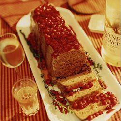 Venison Terrine with Red Currant Sauce Recipe | SAVEUR