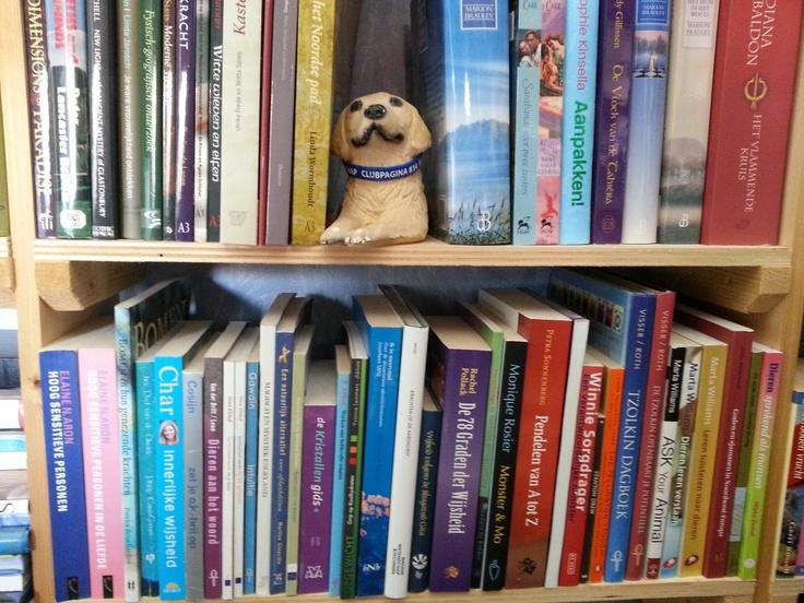 In de boekenkast van Brenda Ebben