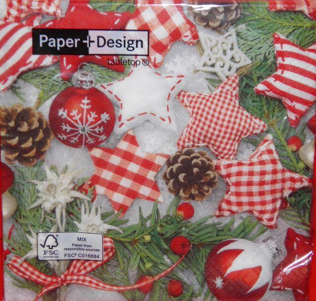 Χαρτοπετσέτες Χριστουγεννιάτικες 60686