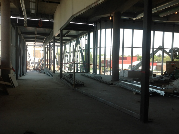 Athletic Recreation Centre Build as of May 16 2013. #Construction #HamOnt