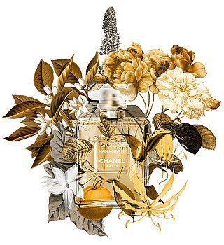 Nostalgic Art - Chanel Coco Mademoiselle Perfume Notes 1