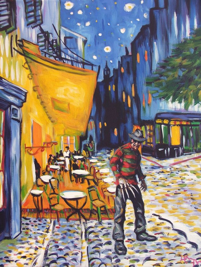 What Frame Works Best With Van Gogh S The Cafe Terrace