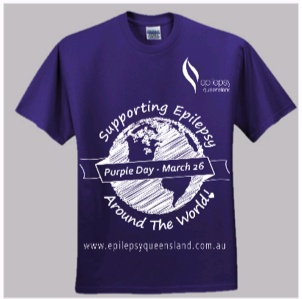 Supporting Epilepsy T Shirt