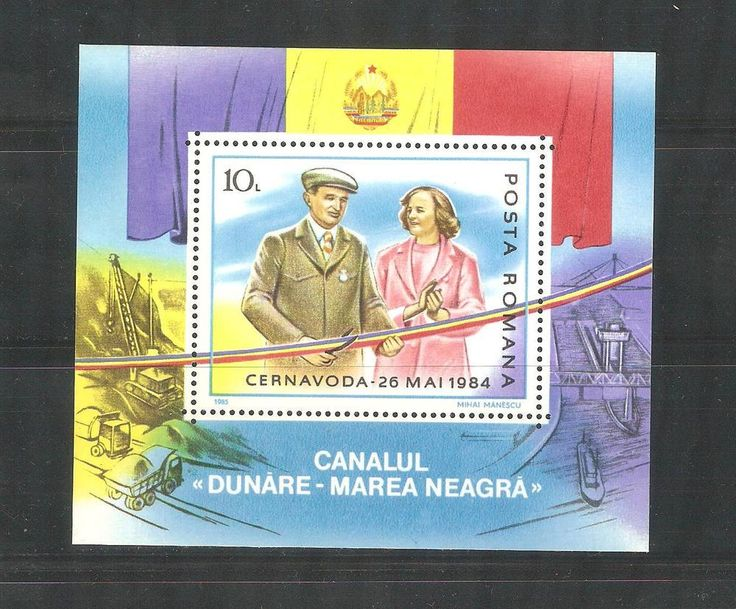 1985 Danube-Black Sea Canal Opening