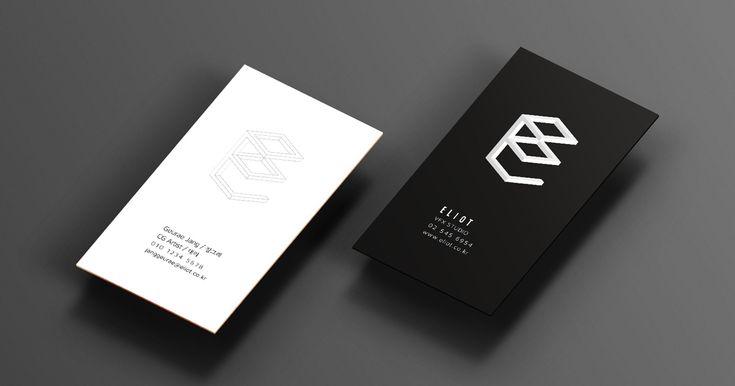 엘리엇 명함인쇄 - 프린트로보 코리아(Eliot Business Card from Printrobo Korea)