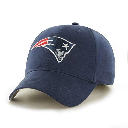 Mens NFL Patriots Cap Football Themed Hat Embroidered Team Logo Sports Patterned Team Logo Fan Athletic Team Spirit Fan Comfortable Blue White Red Silver Brushed Cotton