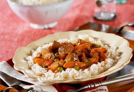 Hearty and delicious, this veal stew is a snap to make in the slow cooker. Assemble and set it to cook in the morning, then savor the mouthwatering aroma from the kitchen when you return home in the evening.