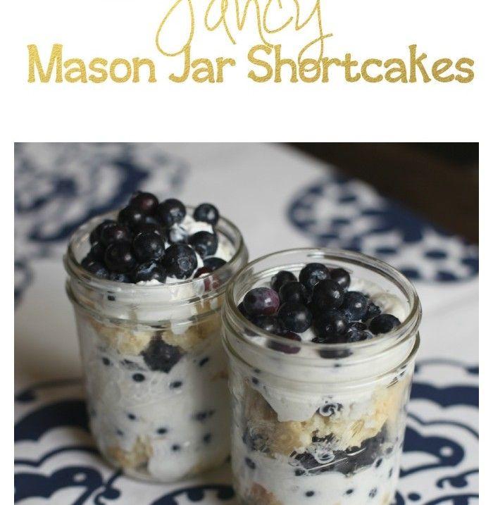 mason jar shortcakes