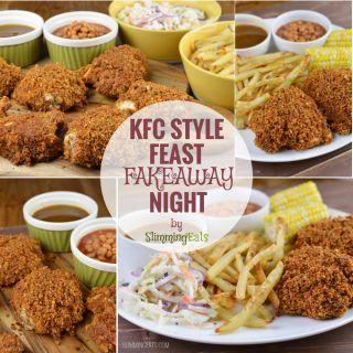 KFC Style Feast Fakeaway Night