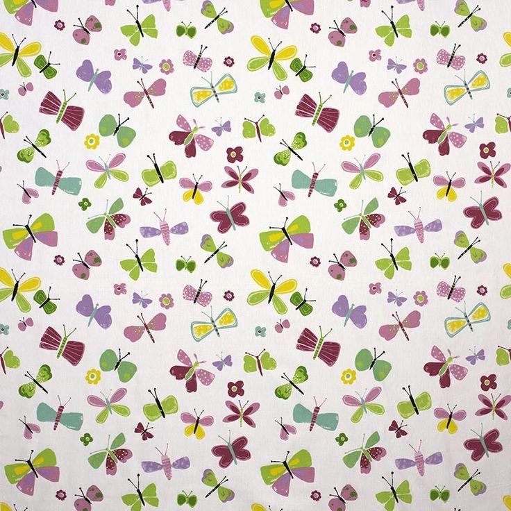 Warwick Fabrics : FLUTTER, Colour PETAL