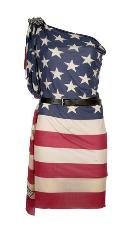 american flag dress And I LOVE THIS