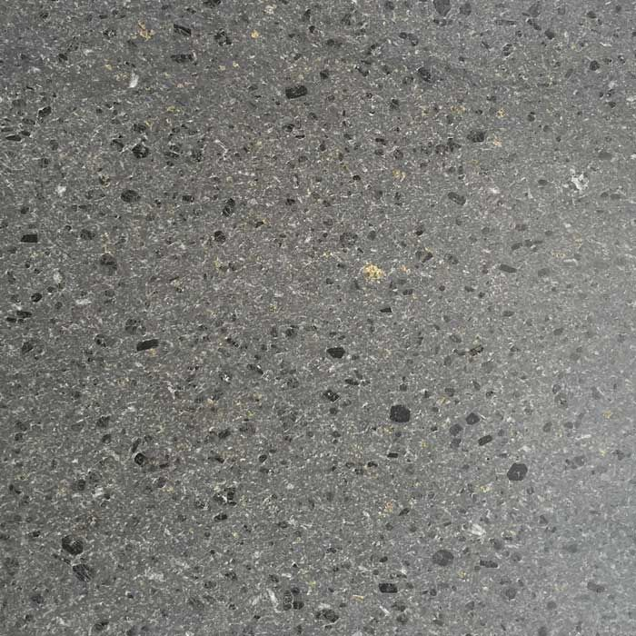 A hardwearing lava stone tile for floors and walls, this Italian basalt is available in a honed, brushed or antiqued finish.