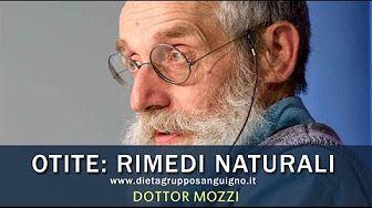 I rimedi naturali del dottor Mozzi per l'Otite (infiammazione dell'orecchio)