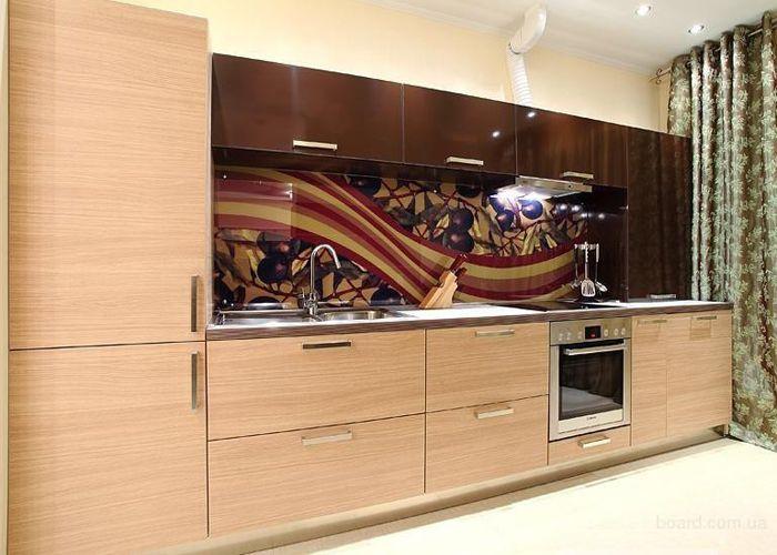 Скинали - декоративные стеклянные панели с нанесенным рисунком или фотоизображением Идеи дизайна интерьера