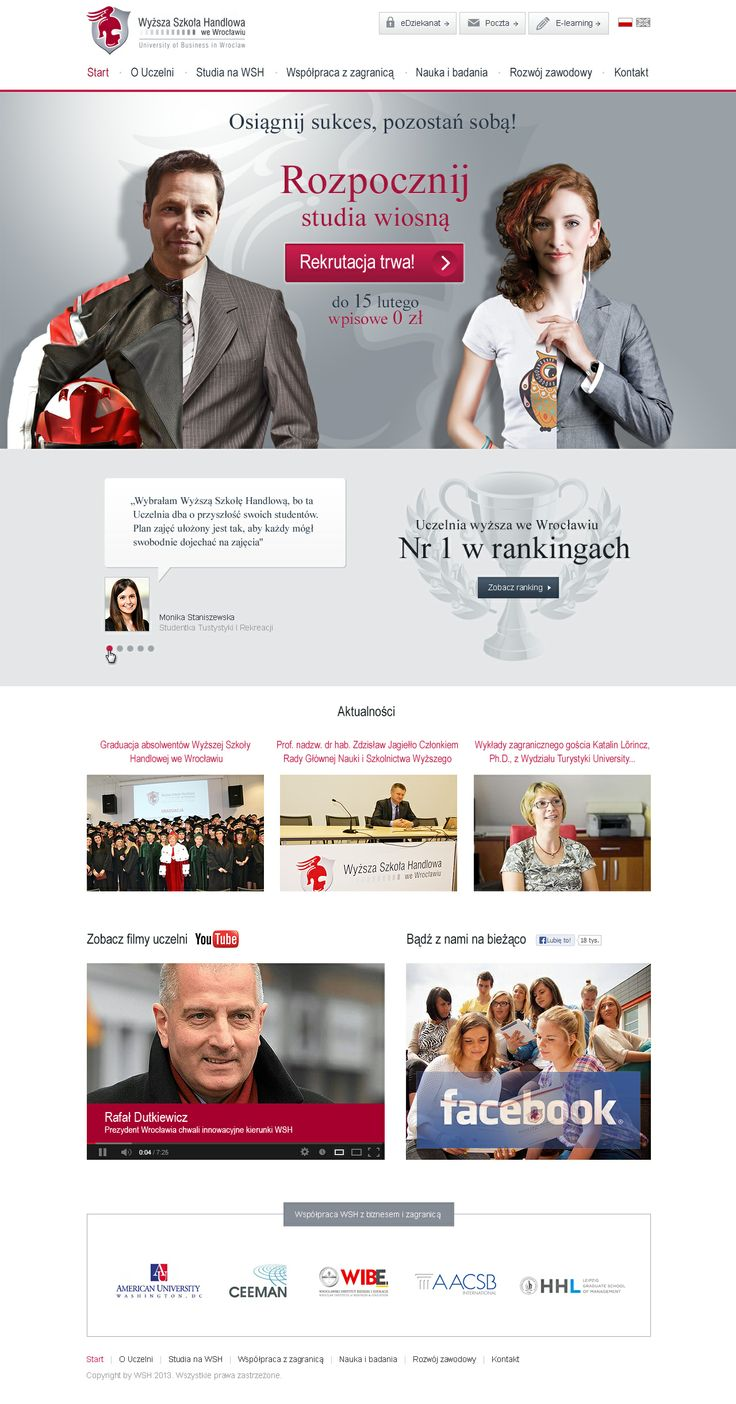 Web Design for WSH - handlowa.eu