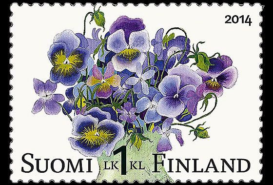Bunch of Violas Issued on May 2014 by FInland! #stamps #finland http://wopa-stamps.com/index.php?controller=country&action=stampRelatedIssue&id=12734
