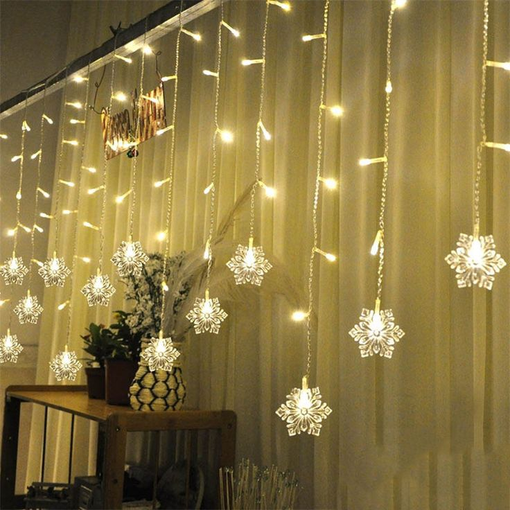 17 best ideas about fairy light curtain on pinterest. Black Bedroom Furniture Sets. Home Design Ideas