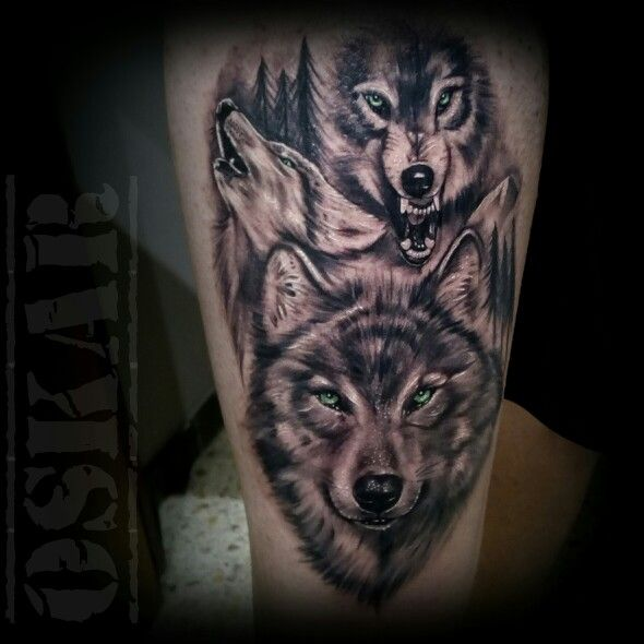 Top 150 Wolf Tattoos So Far This Year: 415 Best Images About Awesome Wolf Tattoos On Pinterest