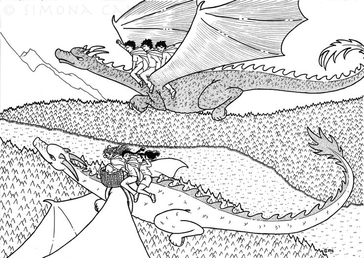 "Illustration for ""Shamrock"", by Veronica Todaro - ink - 2014"