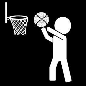 Pictogram Basketbal
