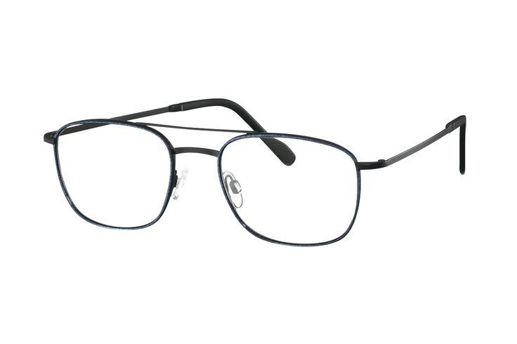 TITANflex 820750 10 Brille in schwarz matt/meteorit | Die Korrektionsbrillenbrillen von TITANflex zeichnet sich durch eine moderne, schlichte Form aus. Die Brillenbügel unterstützten die Fassung hervorragend. Durch das geringe Gewicht und die hochwertige Verarbeitung lassen sich diese...