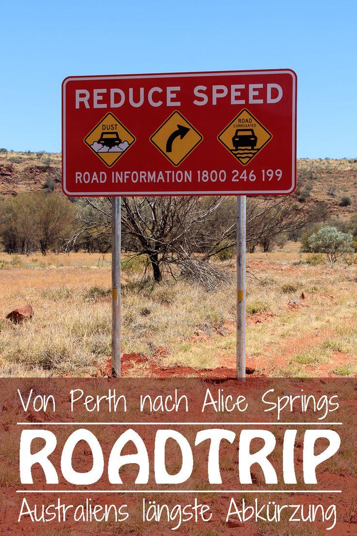 Der Roadtrip von Perth nach Alice Springs ist 3'607 km lang, wenn du auf gut ausgebauten Teerstrassen fahren möchtest.
