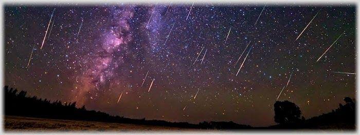 Como observar a chuva de meteoros Gemínidas a olho nu?  Para observar a chuva de meteoros Gemínidas, olhe para o quadrante Norte do céu após as 00h00, na direção da constelação de Gemini (Gêmeos), pois é lá que se encontra o radiante desse chuva (local de onde os meteoros parecem se originar. Dê preferência para um horário após a meia-noite local, sendo que o melhor é um pouco antes do amanhecer (por volta das 04h00).   Galeria do Meteorito: AO VIVO: Chuva de Meteoros Gemínidas 2014