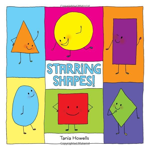 My new book is already up on amazon for pre-order!! woot!! Starring Shapes!: Tania Howells: