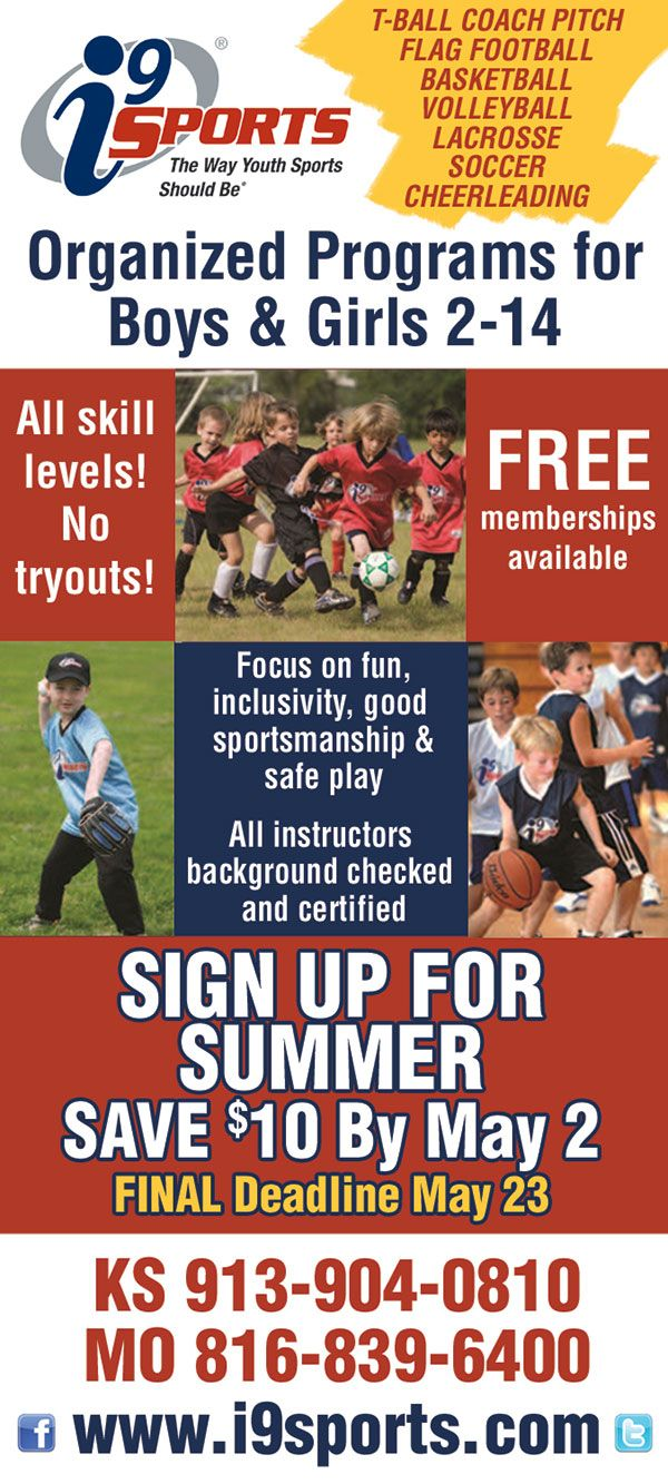 I9 Sports Youth Sports Leagues Near Me Youth Sports Flag Football Sports
