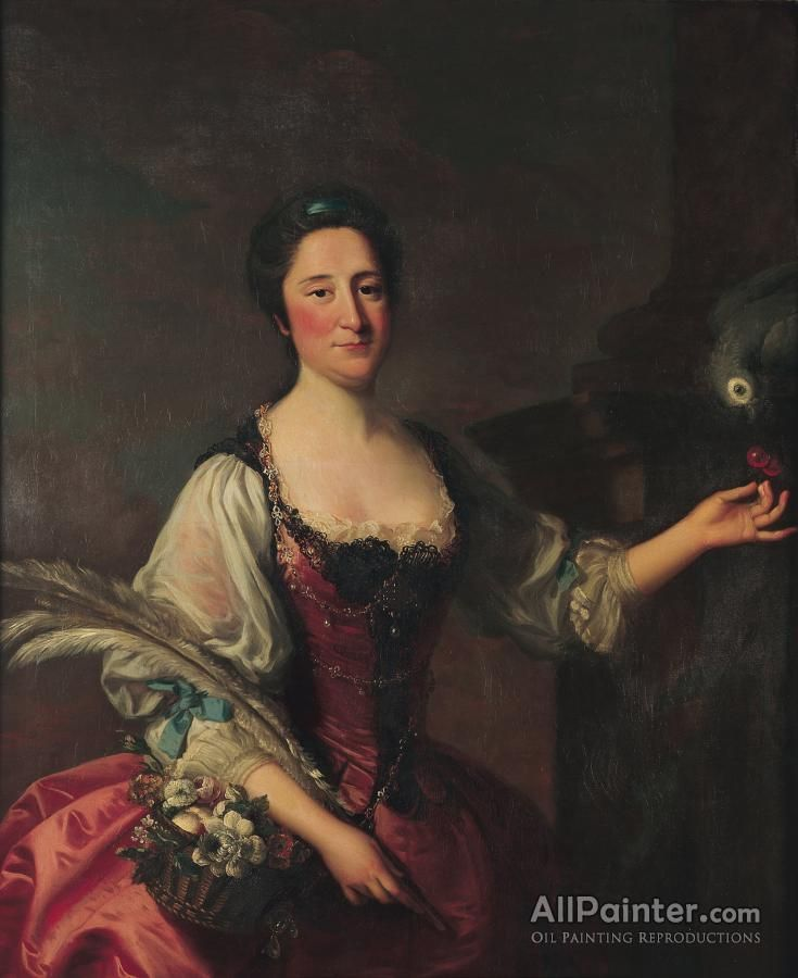 Thomas Hudson,Phila Franks oil painting reproductions for sale