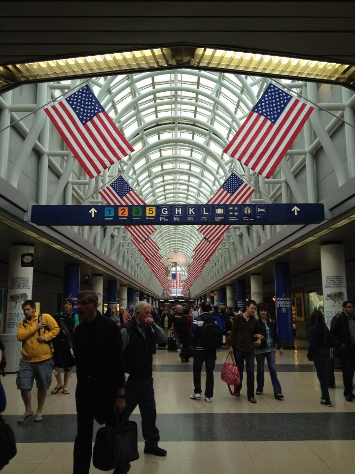o hare international airport chicago terminal 3 american airlines