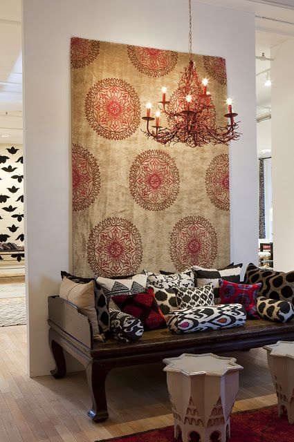 the style saloniste: A World of Style: Rug and Textiles Specialist Madeline Weinrib Opens Her New Bespoke Design Atelier and Launches Chic N...