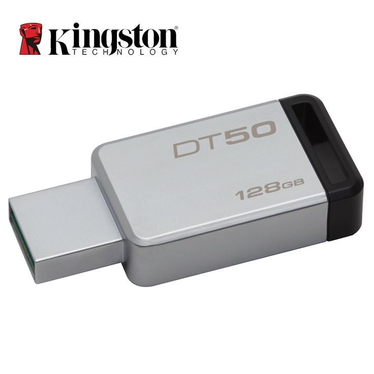 Kingston USB 3.0 Pendrive 128GB 32GB USB Flash Drive USB 3.1 Pendrive 16GB Mental Pen Drive 64GB 8GB Memory Stick  DT50 //Price: $10.41//     #storecharger