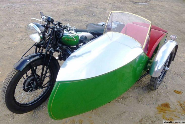 Vintage British Motorcycle Sidecars of the 1930s | Sheldon's EMU