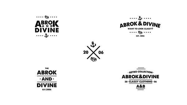 Abrok & Divine by Jørgen Grotdal, via Behance