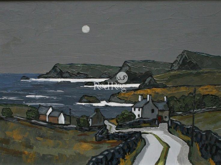 David BARNES-Moonlight over the Llyn