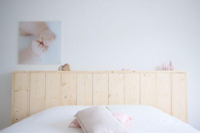Steigerhouten hoofdbord DIY (via Bloglovin.com )