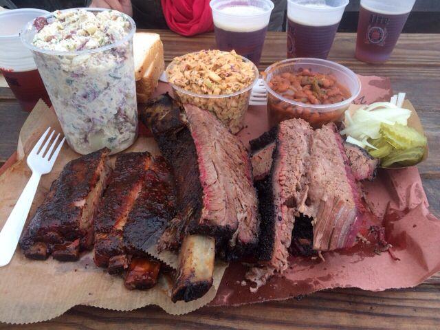 Austin Texas BBQ at LA BBQ