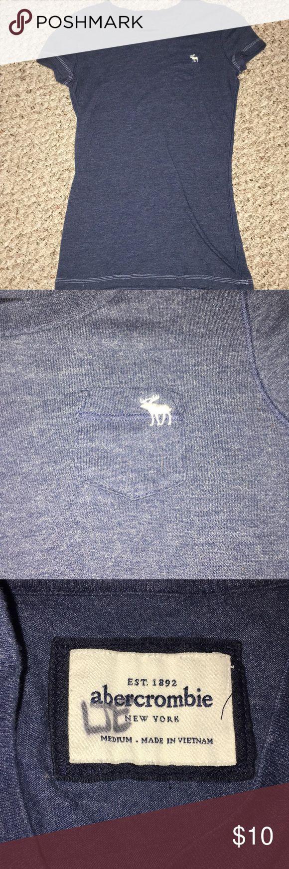 Short sleeve  Abercrombie t-shirt Cute blue Abercrombie t-shirt Abercombie Kids Tops Tees - Short Sleeve