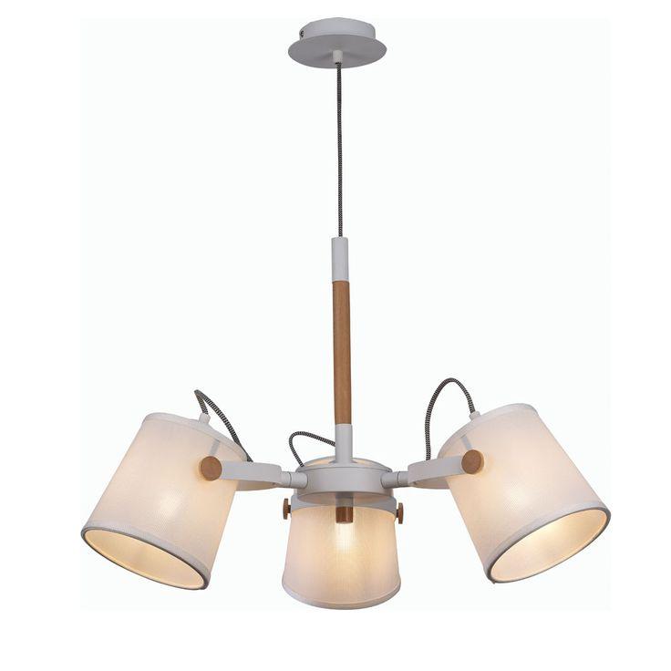 Puedes utilizarla para proporcionar luz indirecta a una estancia o puedes colgarla sobre una mesa de comedor, para iluminar directamente un espacio. En...