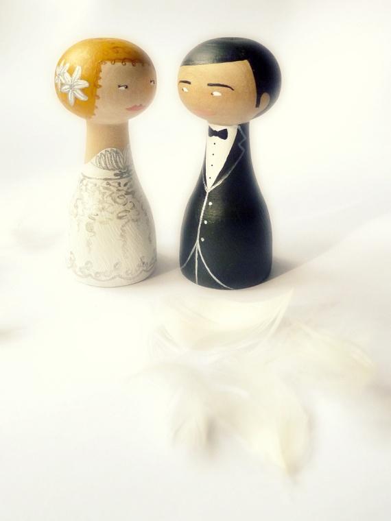 Muñecos para tarta de bodas - Personalizados / Zime Ilustraciones - Artesanio