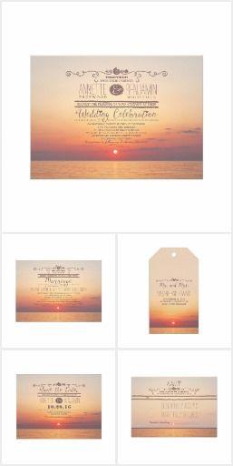 Sunset Beach Wedding Collection