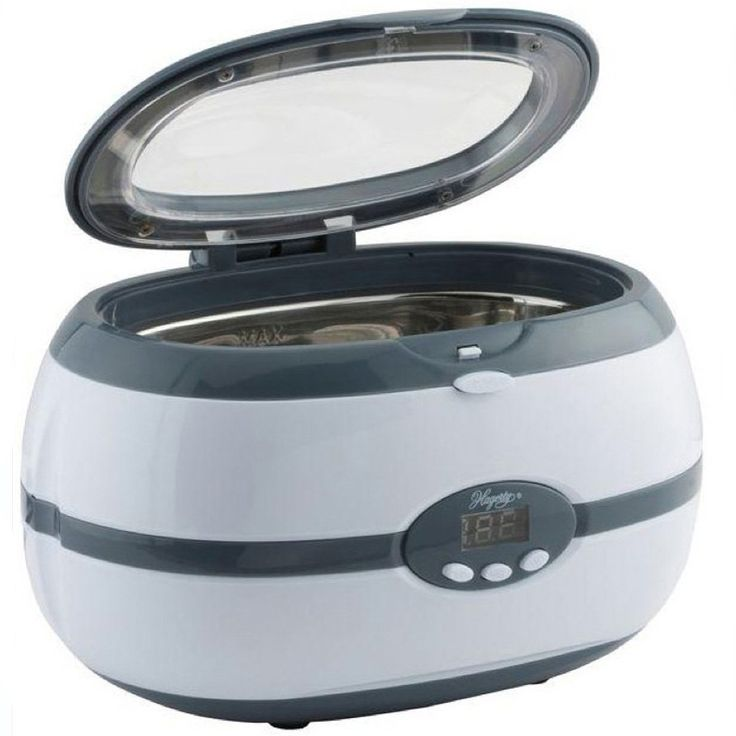 Keep your jewelry looking brilliant with this Digital Ultrasonic Jewelry Cleaner from Hagerty