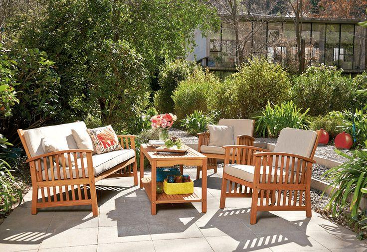Vive mejor esta temporada con este exclusivo juego de living. Un toque moderno con mucho estilo para tu terraza.   #Primavera #Deco #Terraza #EasyTienda #TiendaEasy #Living #primaveraverano #cambiavivemejor