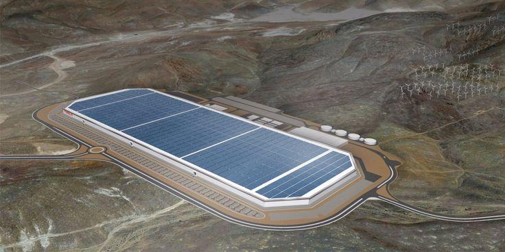 Photos inside of Elon Musk's Tesla Gigafactory - Business Insider
