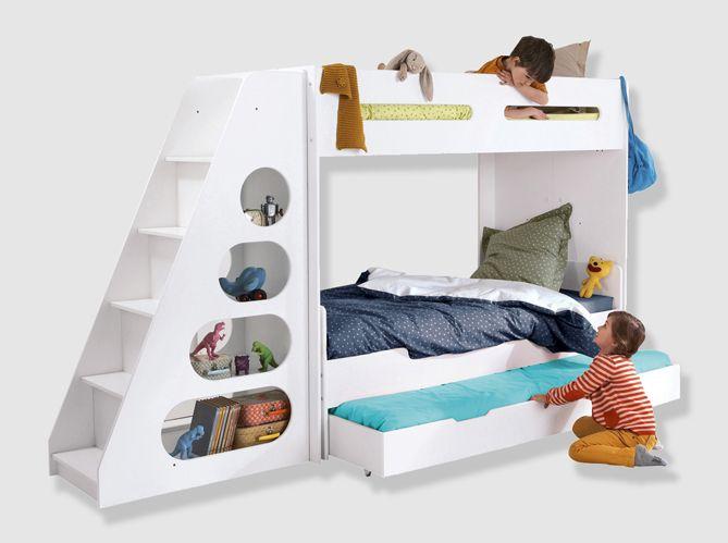 les 25 meilleures id es de la cat gorie lit superpos. Black Bedroom Furniture Sets. Home Design Ideas
