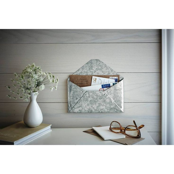 Metal Envelope Wall Decor : Ideas about mail storage on entryway