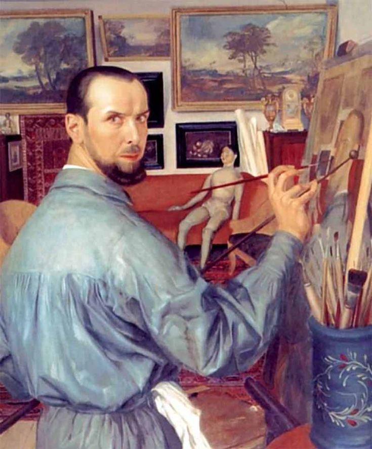 «Автопортрет» Яковлев Александр Евгеньевич (1887-1938)