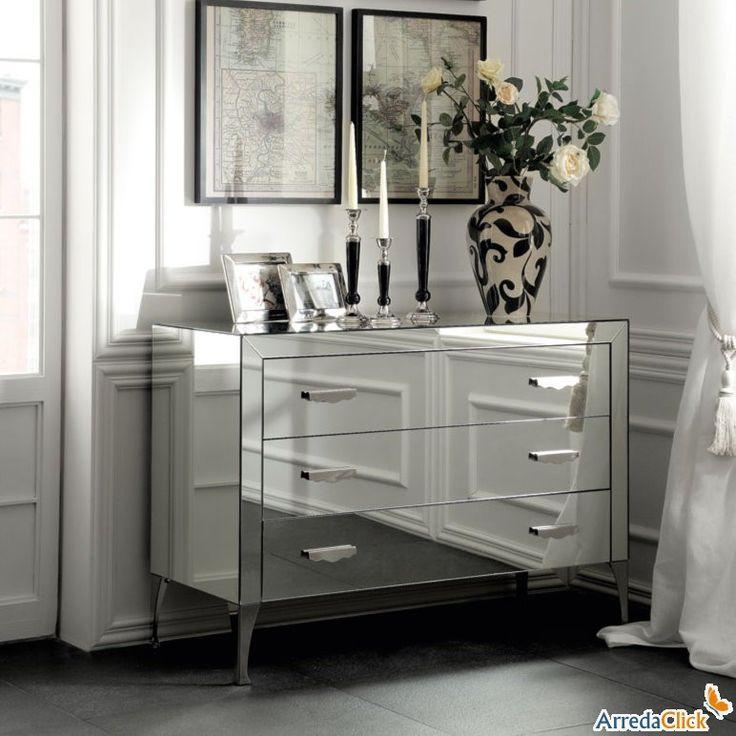 Oltre 25 fantastiche idee su com con specchio su - Comodini specchio ikea ...