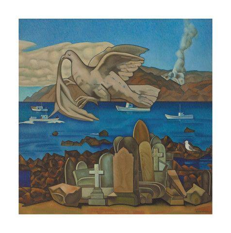 Rita Angus - Flight 1968  Gallery Prints